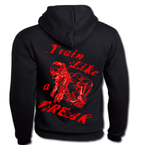 Conan Wear Sweat Jacke Train like a Freak schwarz