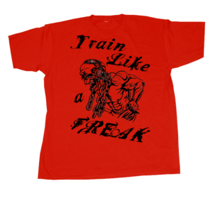 Conan Wear T-Shirt Train Like A Freak Red