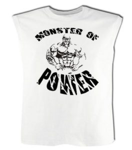 Conan Wear Muscle Shirt monster